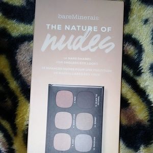 BareMinerals the nature of nudes eyeshadow pallet